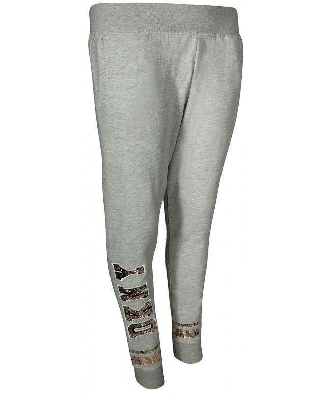 DKNY Fashion Fleece Jogger Sweatpants