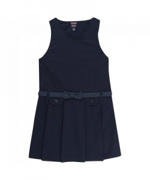 French Toast Girls Belted Jumper