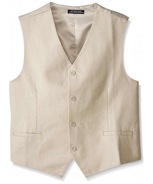 Nautica Big Boys Linen Vest