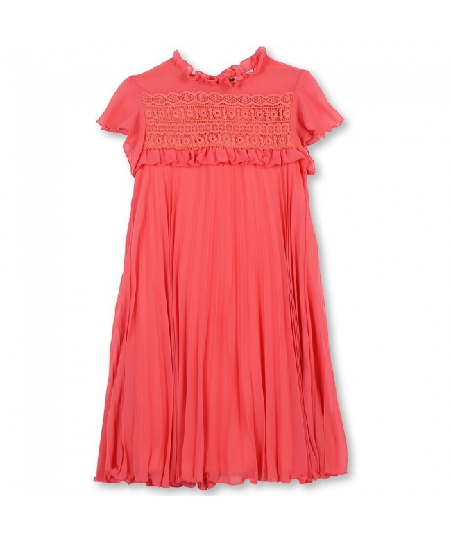Speechless Girls Mock Sleeve Dress