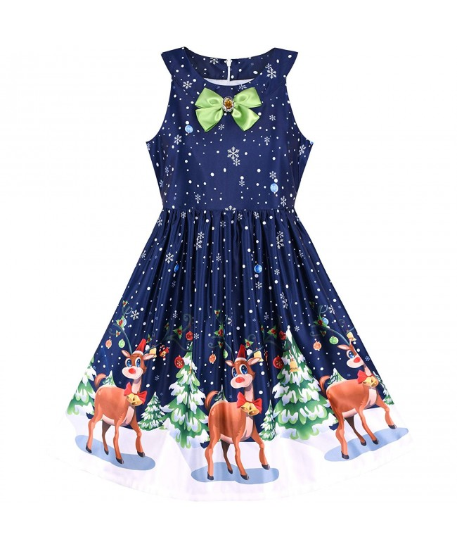 Sunny Fashion Girls Christmas Reindeer