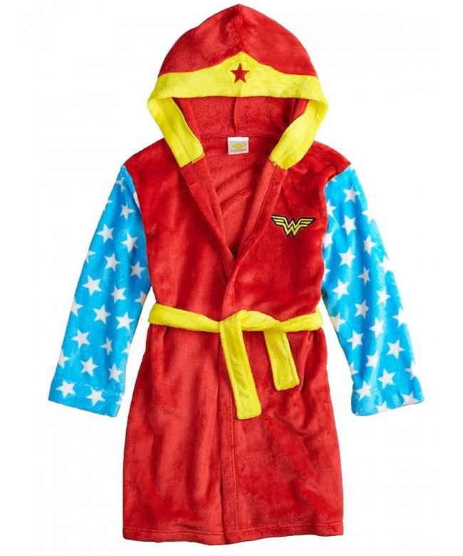 Comics Wonder Woman Fleece Bathrobe