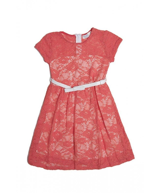 ToBeInStyle Girls Lace Accent Dresses