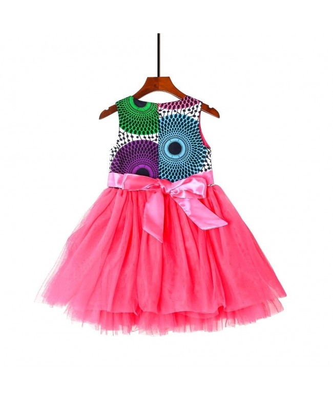 Hybrid Fashionista Dress Girls African