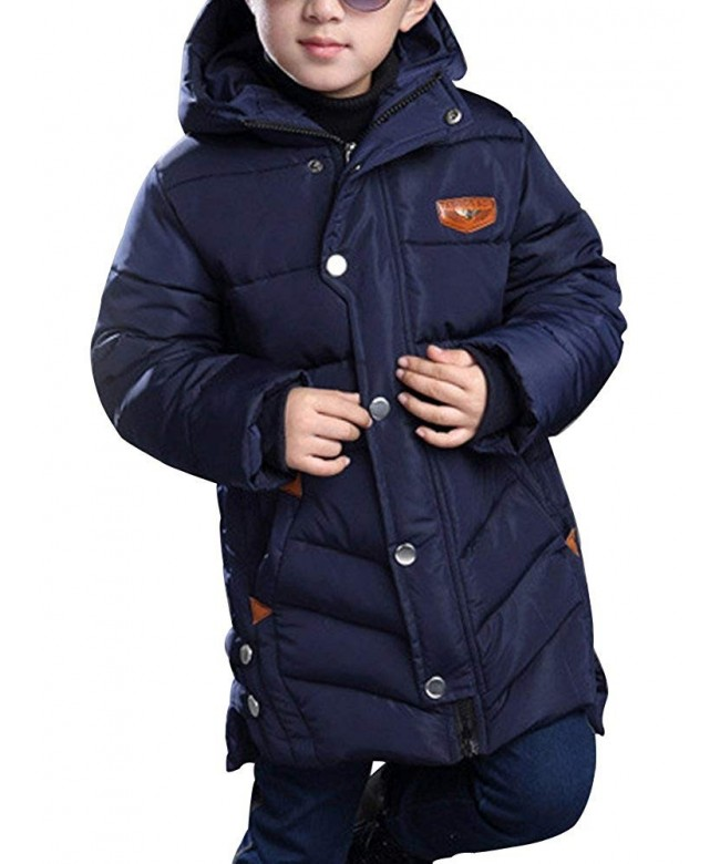 OCHENTA Winter Cotton Quilted Outerwear