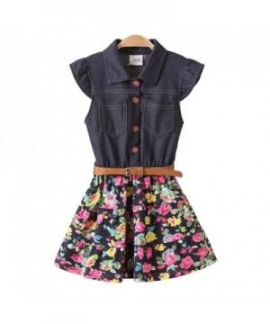 JUXINSU Sleeveless Dresses Summer Cotton