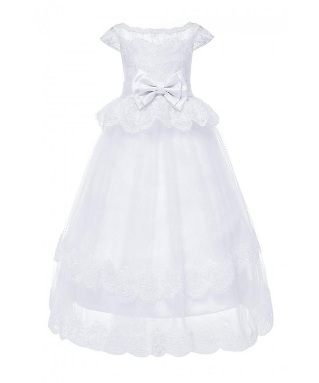 Yuanlu Flower Weddings Communion Dresses