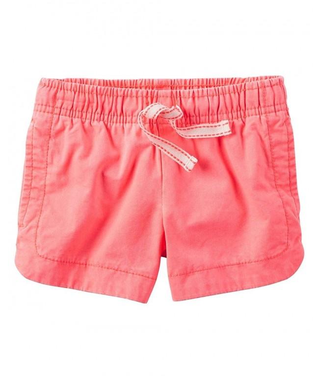 Carters Little Garment Dyed Shorts 6 Kids