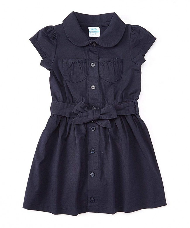 unik Uniform Belted Safari Dress