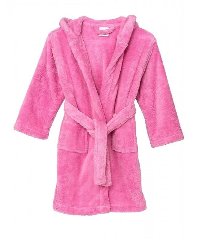 TowelSelections Hooded Fleece Bathrobe Turkey