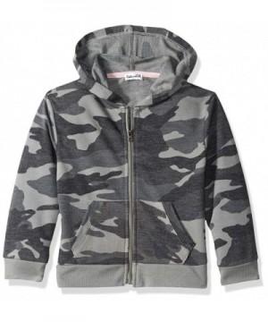 Splendid Girls Camo Hoodie Jacket