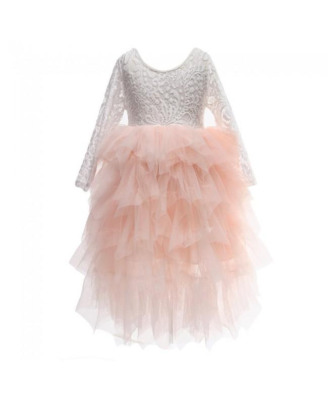 Flower Skirts Princess Birthday Dresses