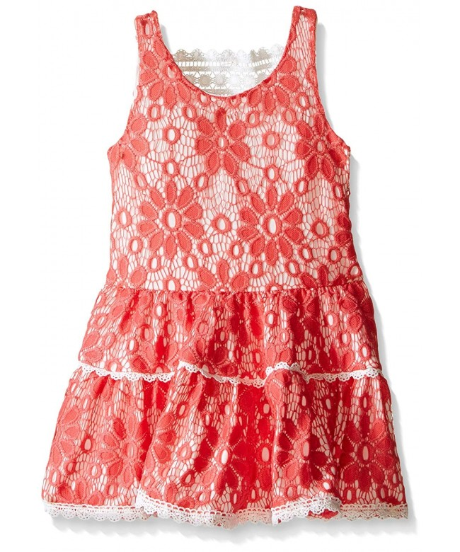 Rare Editions Girls Coral Waist