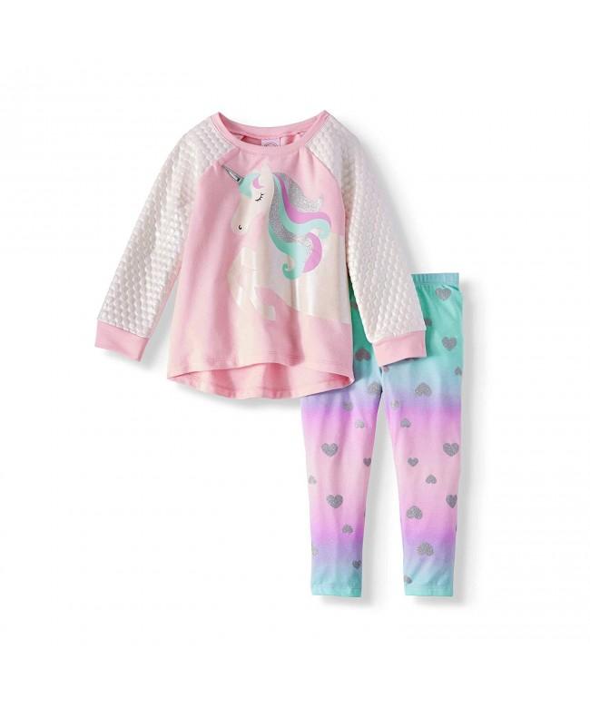 Toddler Unicorn Graphic Leggings 2 Piece
