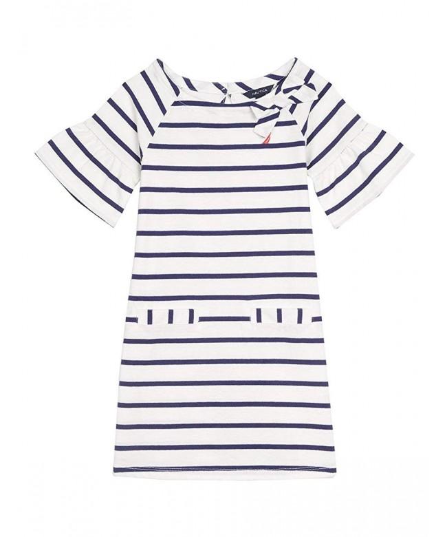 Nautica Girls Stripe Jersey Shift