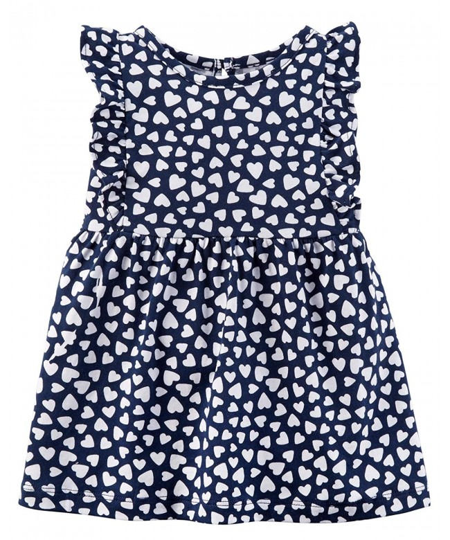 Carters Girls 0M 24M Floral Jersey
