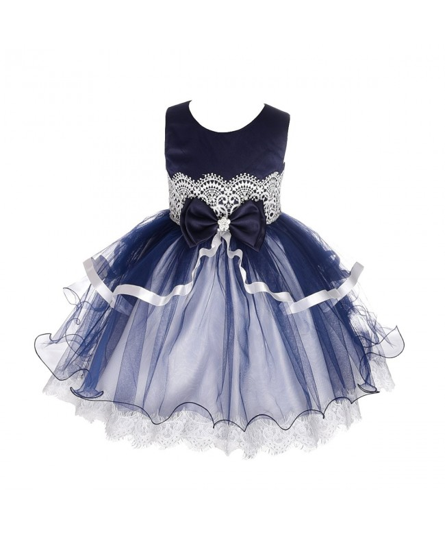 Dressy Daisy Baby Girls Diamond Wedding