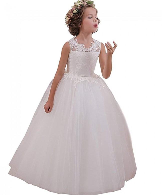 LovelyGirl Flower Dresses Communion Wedding