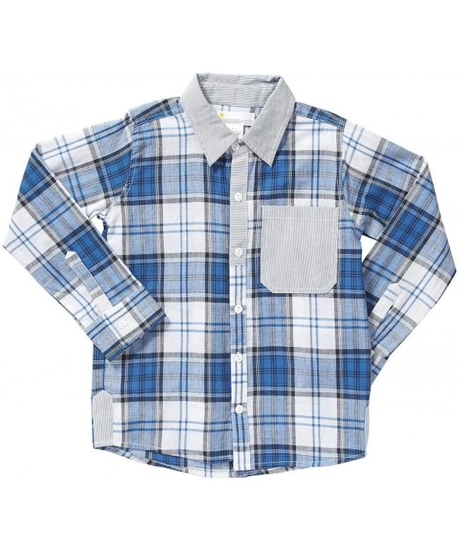 Masala Little Boys Shirt Toddler