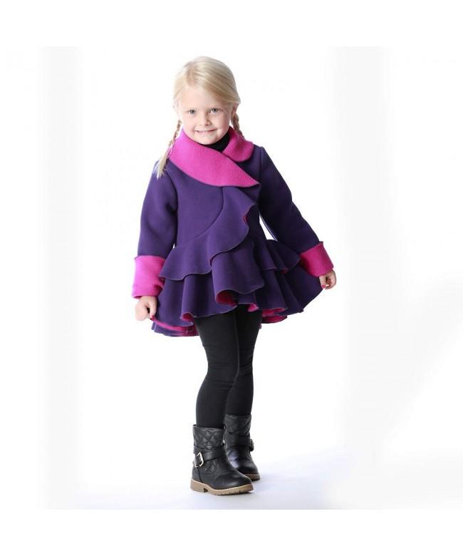 Mack Co Fleece Coat Girls