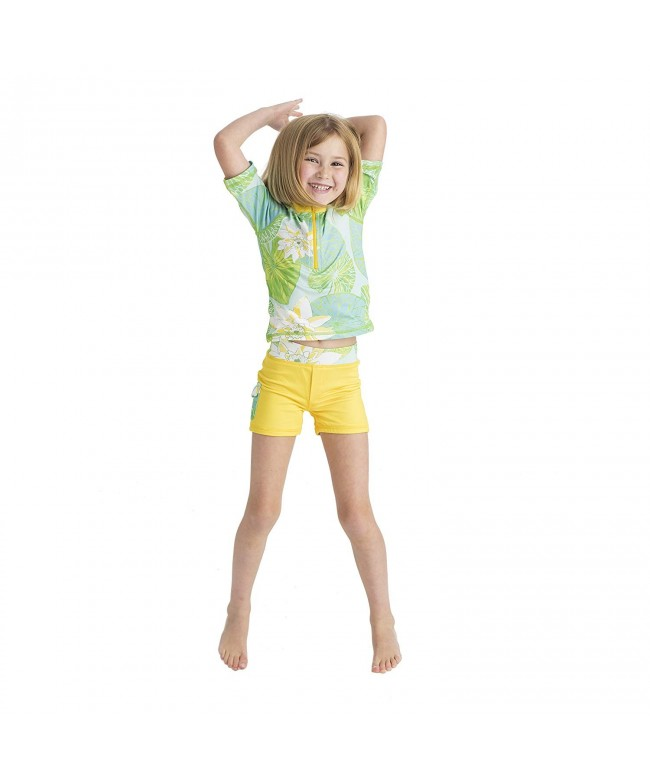 Masala Kids Girls Swim Shorts