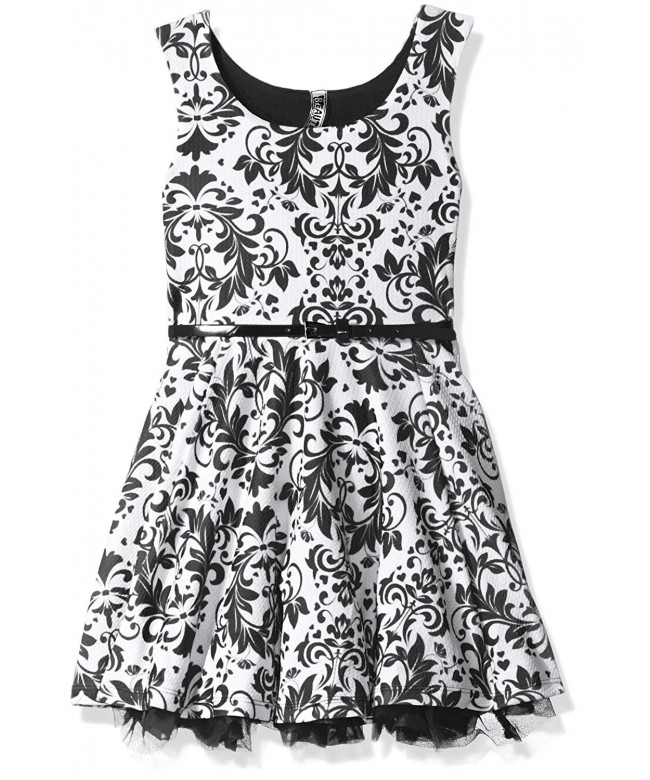 Beautees Girls Big Skater Dress