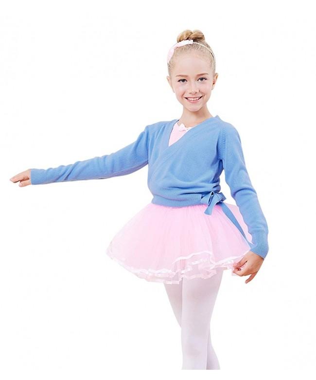 PINKDAA Sweater Ballerina Sleeve Cardigan