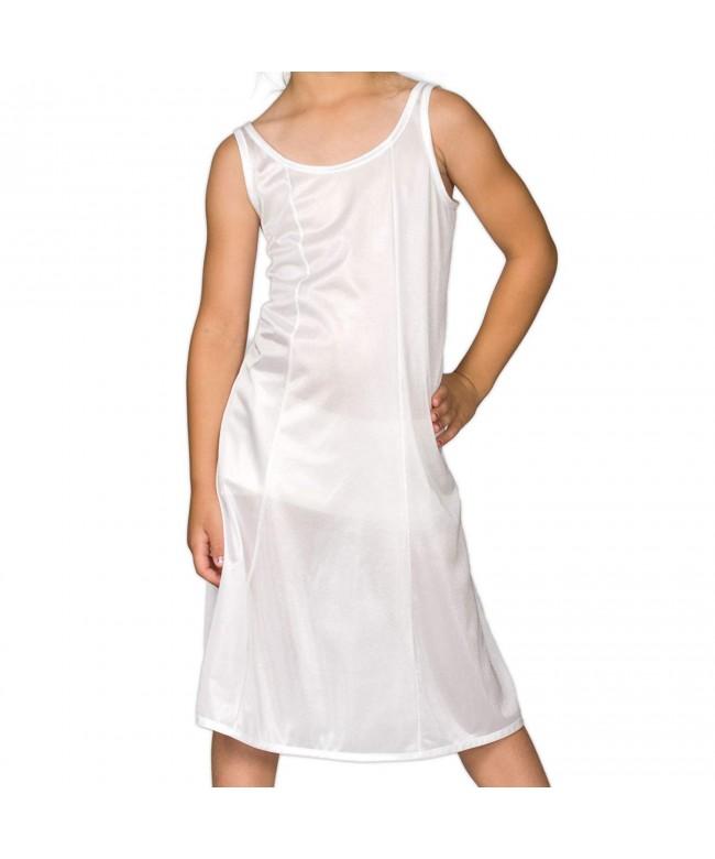 Collections Little Girls White Sleek