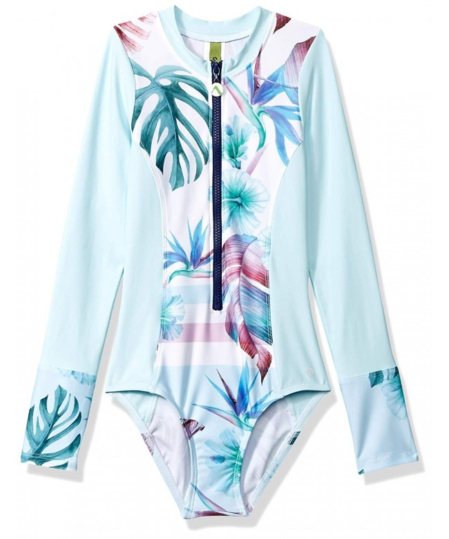 Next Girls Sleeve Malibu Swimsuit