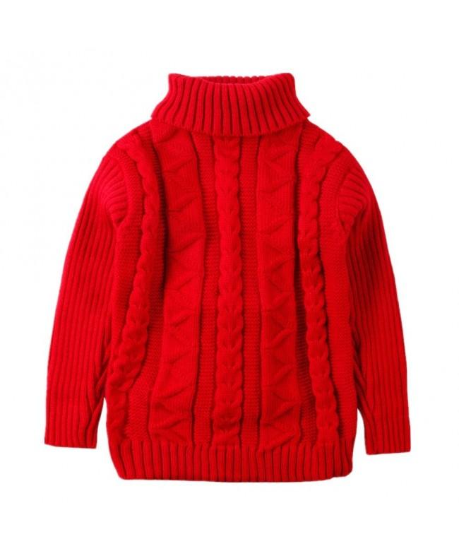 LittleSpring Little Turtleneck Sweater Pullover