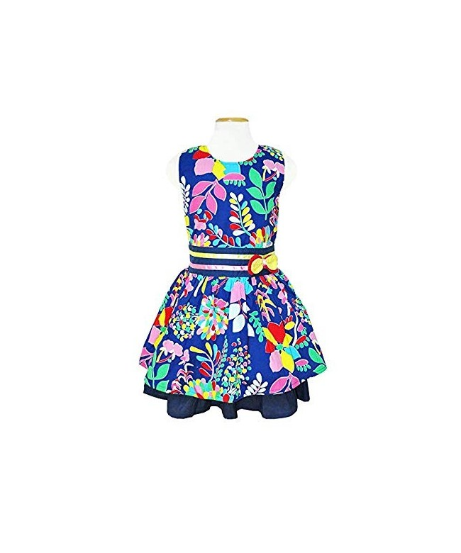 Sleeveless Painted Dresses Sundress Toddler