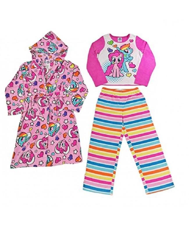 AME Little Bathrobe Fleece Pajama