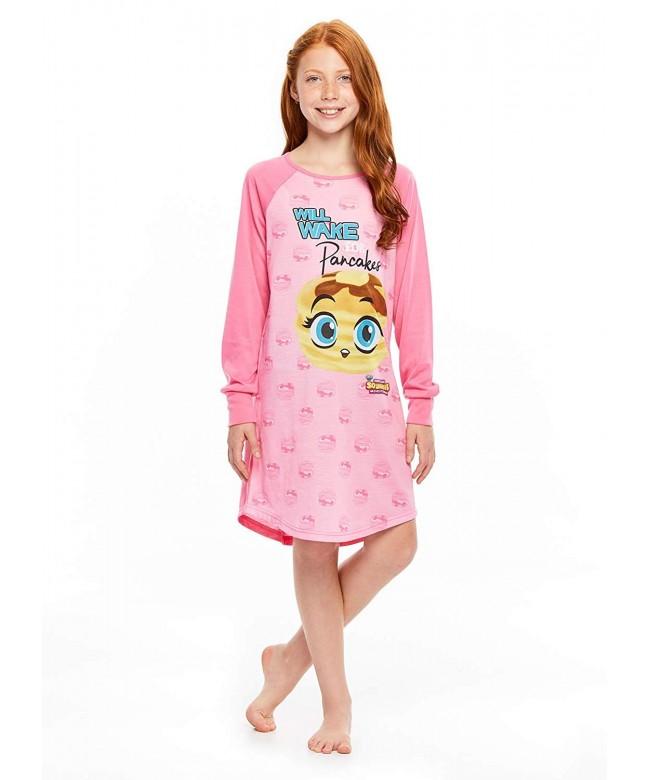 Squishies Sleepshirt Girls Sleeve Nightshirt