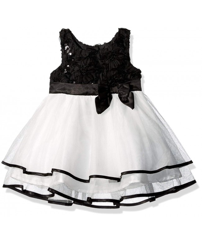 Lilt Girls Soutache Sequin Dress