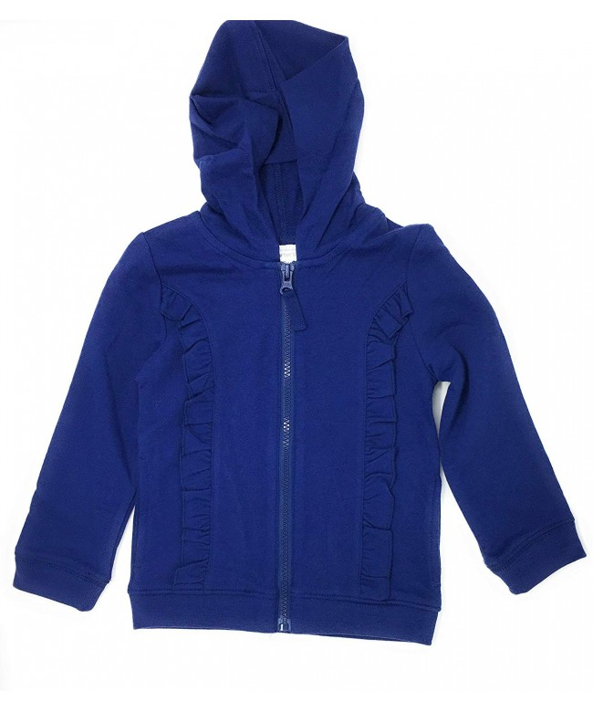 Carters Girls Ruffle French Hoodie