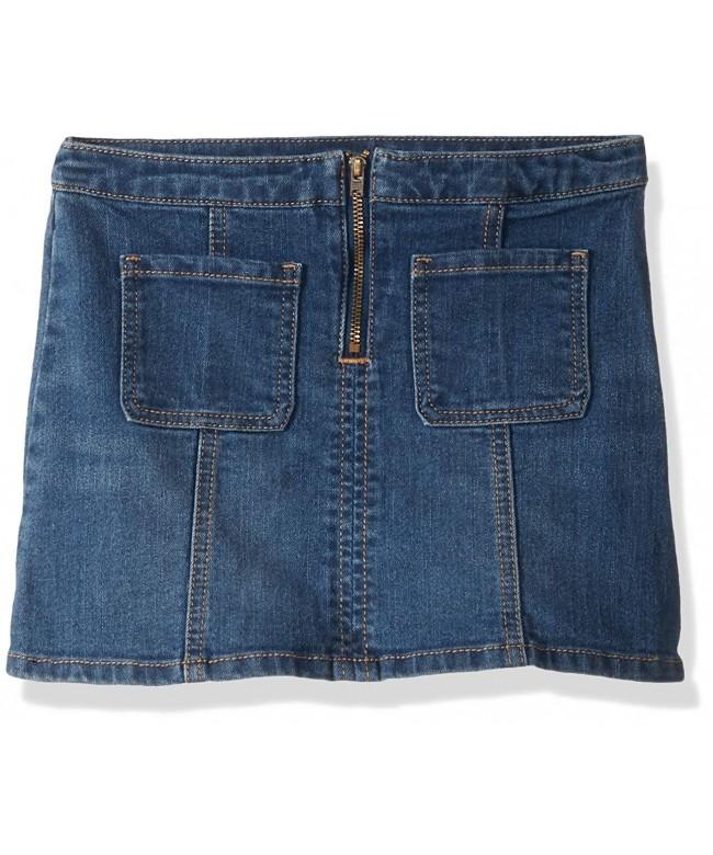 Crazy Girls Toddler Denim Skirt