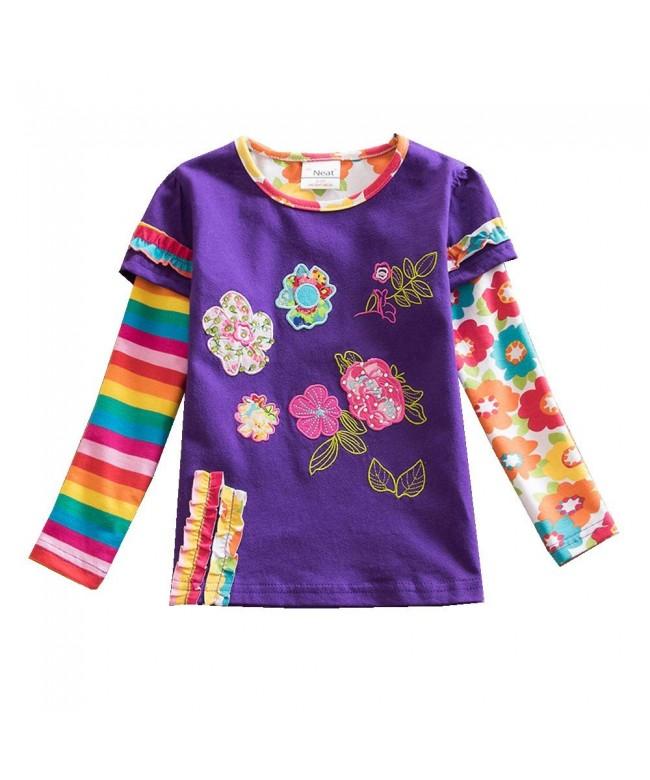Jxs Neat Cotton Rainbow T Shirt