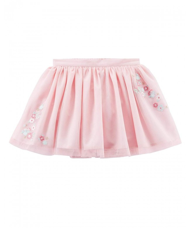 Carters Girls Tulle Skirt Applique
