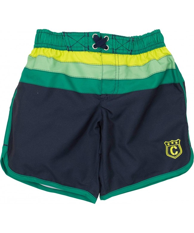 Cherokee Striped Trunks Board Shorts