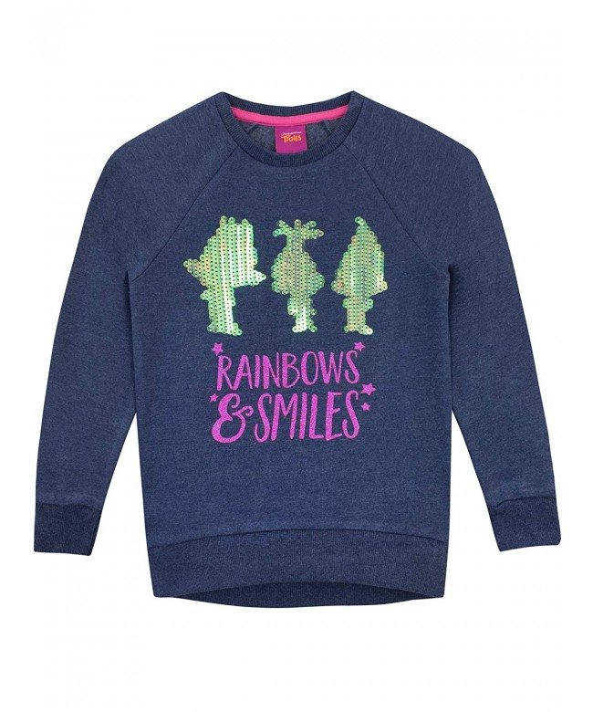 Trolls Girls Poppy Sweatshirt