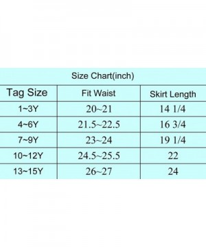 Fashion Girls' Skirts & Skorts for Sale