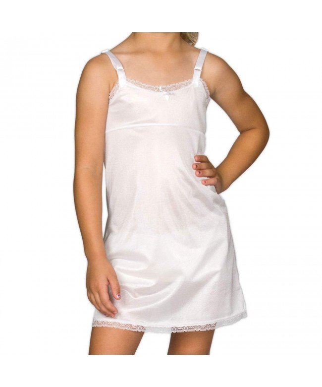 Collections Girls White Simple Empire