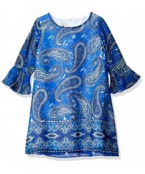 Marmellata Girls Printed Shift Dress