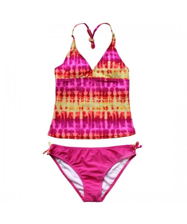 CHICTRY Tie Dye Bathing Swimwear Swimsuit