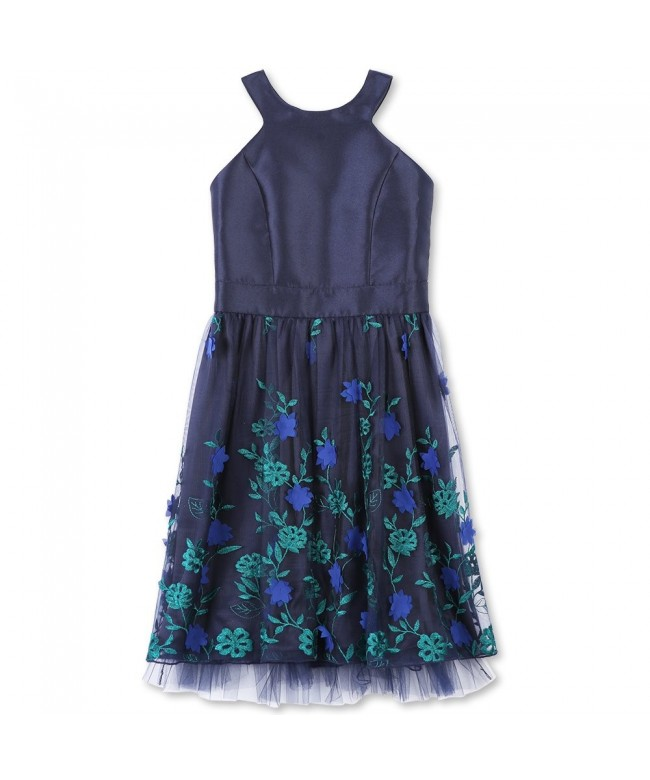 Speechless Girls Party Dress Embroidered