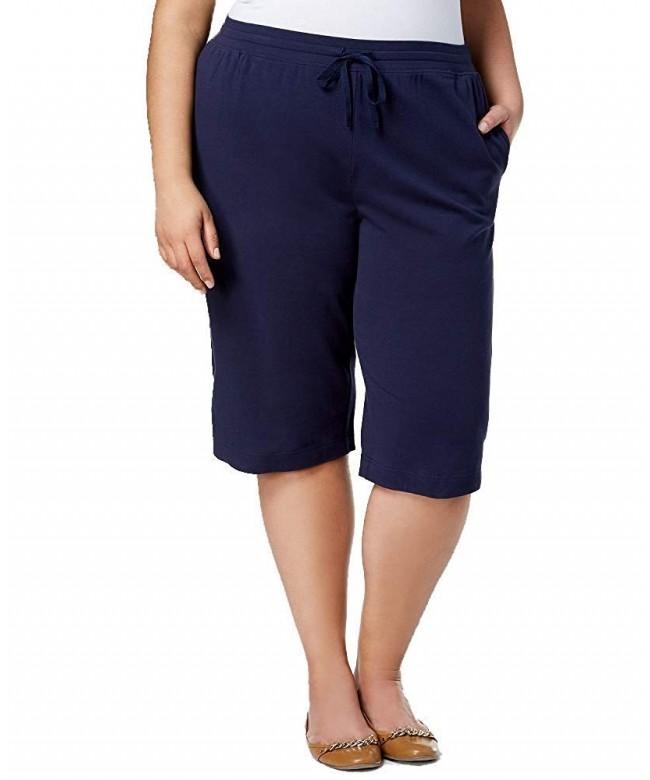 Karen Scott Cotton Capri Pants
