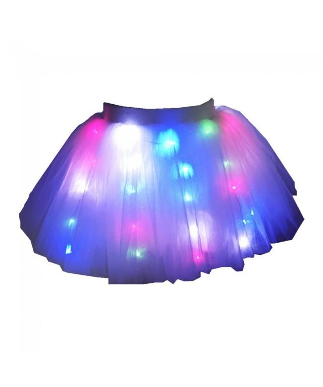 Girls Skirt Christmas Layered Ballet