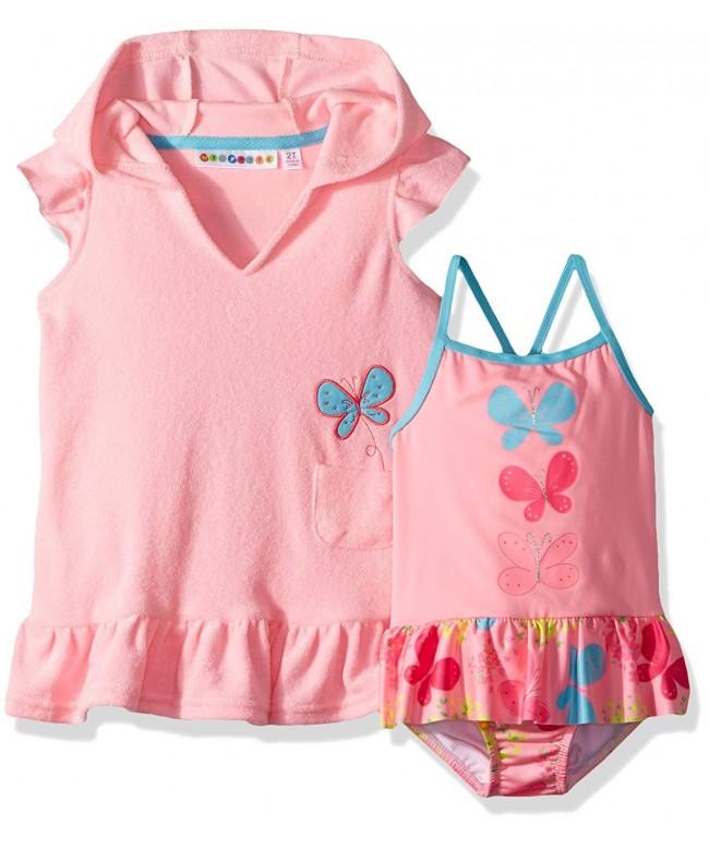 Wippette Girls Toddler Coverup Butterflies