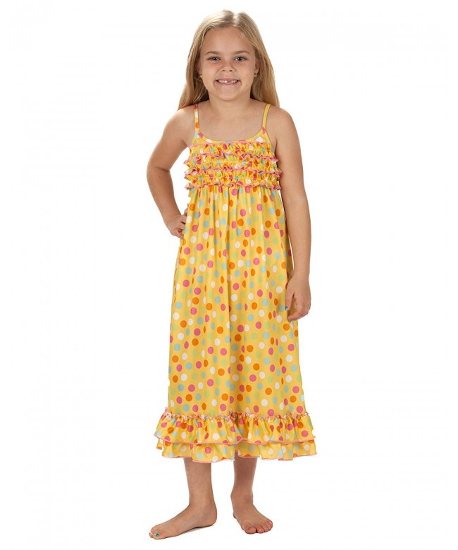 Laura Dare Sprinkles Strappy Nightgown