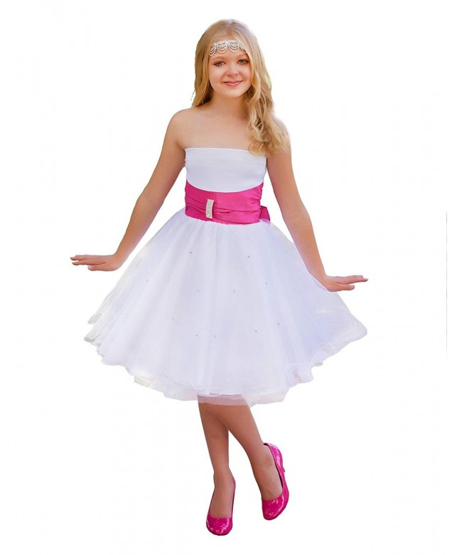 Dressy Daisy Rhinestone Wedding Dresses